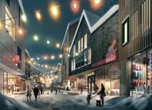 Nowa Kiruna - wizualizacja