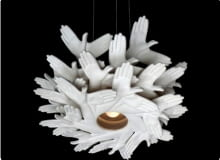 lampa Bird in hand; projekt: J.P. Meulendijks