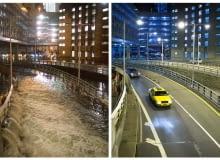 Zniszczenia spowodowane huraganem Sandy, który uderzył we wschodnie wybrzeże Stanów Zjednoczonych 29 października 2012 roku