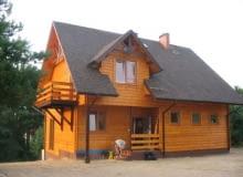 """Drewniany dom szkieletowy - """"kanadyjczyk"""""""