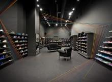 Wnętrze sklepu Run Colors w Poznaniu