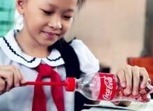 Coca-Cola, recykling, co zrobić z butelki, plastikowa butelka po Coli, coca-cola