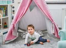 Tipi do pokoju dziecięcego