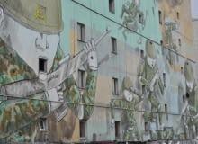 murale, blu, warszawa