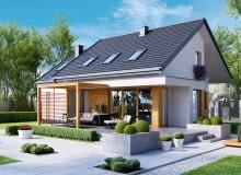 projekt domu, projekty domów jednorodzinnych, projekt gotowy