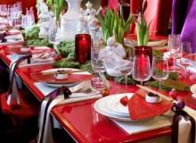 świąteczny stół Royal Copenhagen