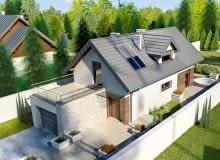 dom jednorodzinny, projekt domu, projekty domów