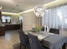 Minimalizm z nutą glamour w domu we Włocławku