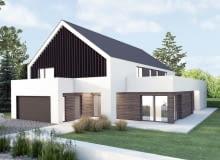 Projekt domu dwurodzinnnego