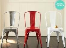 klasyk tygodnia, tolix, krzesło, model A, metalowe krzesło, krzesło do industrialnych wnętrz