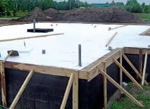 Izolacja termiczna połogi na gruncie