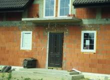 balkon, budowa domu