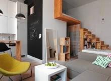 mieszkanie w stylu loftowym, wystrój wnętrz, aranżacje wnętrz