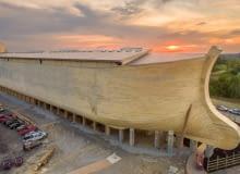 Replika biblijnej Arki Noego