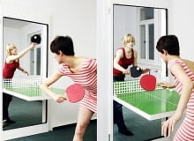 Ping Pong Door, Tobas Frazel