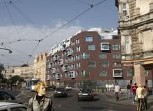 Apartamentowiec projektu Macków Pracownia Projektowa