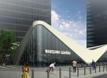 Na zdjęciu koncepcja zagospodarowania okolic Dworca Gdańskiego, którą przedstawiła firma Marvipol (odpadła we wcześniejszej fazie przetargu)