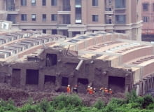 Katastrofa budowlana w Chinach