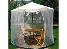 """Ochrona przeciw komarom. Baldachim """"Moskito"""""""