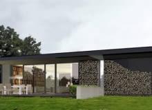 Dom na czarno
