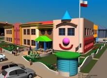 Projekt przedszkola na warszawskich Kabatach