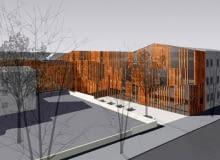 Małopolski Ogród Sztuki, projekt, wizualizacje, architektura, teatr, kraków