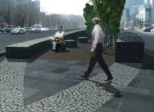 projekt, warszawa, emilii plater, przebudowa, RS Architektura Krajobrazu