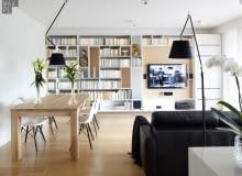 Mieszkanie na Służewie; nowoczesne mieszkanie, nowoczesne wnętrza