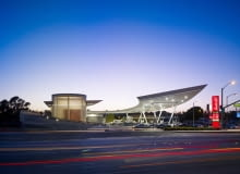 kanner architects, stacja benzynowa, usa, los angeles,