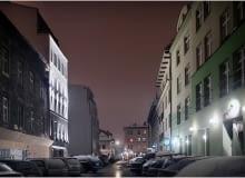 hotel, off white, ovotz design lab., kraków, kazimierz, architektura, projekt