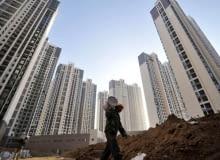 Budowa osiedla mieszkaniowego w Chinach
