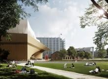Biblioteka Główna w Helsinkach - wizualizacja
