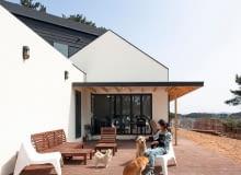 dom, nowoczesny dom, pensjonat, rezydencja dla psów