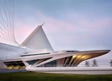 The Milwaukee Art Museum, proj.Santiago Calatrava