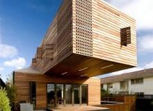 Trojan House Jackson Clements Burrows Architects,dom pasywny, dom jednorodzinny, Australia