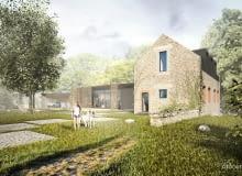 Przebudowa francuskiej farmy w Bretanii