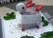 nietypowe, przestrzeń miejska, publiczne, pawilon, expo 2010
