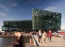 Harpa - Sala koncertowa i centrum konferencyjne, proj. Henning Larsen Architects, Studio Olafur Eliasson i Batter~id architects, Reykjavik, źródło: http://miesarch.com