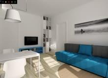 Projekt salonu i łazienki, Alina Badora, TECON