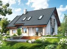 projekty domów, dom jednorodzinny