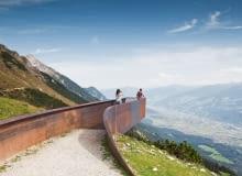 Ścieżka Perspektyw w Austrii. Proj. Snochetta