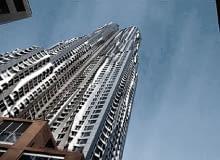 Wieżowiec Beekman Tower w Nowym Jorku, proj. Frank Gehry