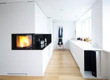 Minimalistyczne mieszkanie dla rodziny