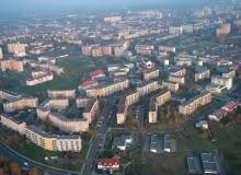 Osiedle Krakowska - Południe w Rzeszowie - widok z lotu ptaka