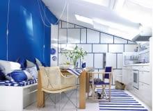 5Helle Kueche mit Essecke und Sitzbank im Dachgeschoss