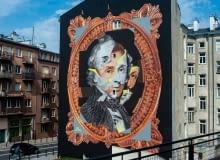 Nowy mural Chopina na Tamce od Good Looking Studio