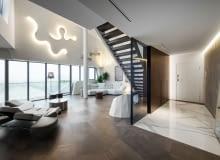 Penthouse'u One - 11 w Mediolanie. Proj. Zaha Hadid Architects