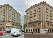 Warszawa pozbywa się niechcianych reklam. Zdjęcia przed i po interwencji stołecznego Wydziału Estetyki Przestrzeni Publicznej