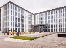 Bielany Business Point - nowy biurowiec oddany do użytku w Bielanach Wrocławskich, Projekt architektoniczny powstał w pracowni: Projekt Grupa Sławomir Kostur