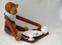 drewniane zabawki, proj. Kay Bojesen